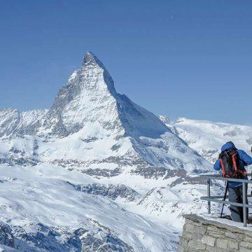 スキーシーズンのみオープンする展望台ホーテリー